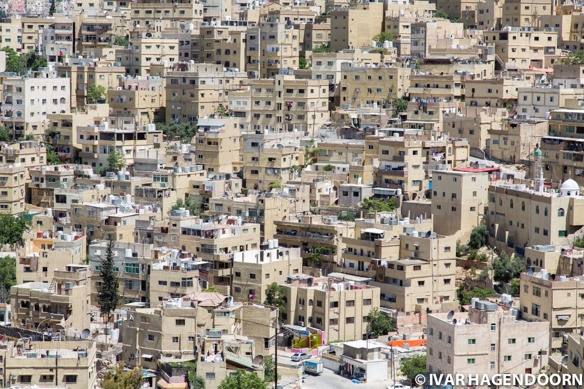 Amman View From the Citadel