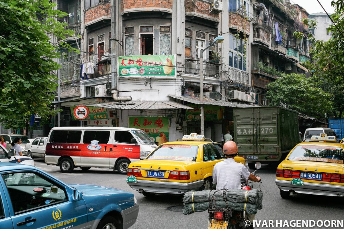 Street scene, Guangzhou, Old Town