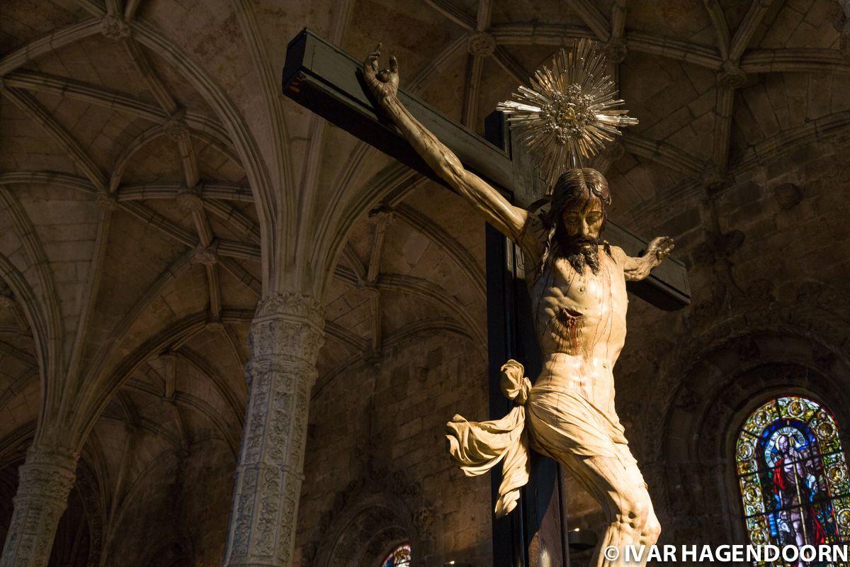Figure of Christ, Santa Maria de Belem, Lisbon, Portugal