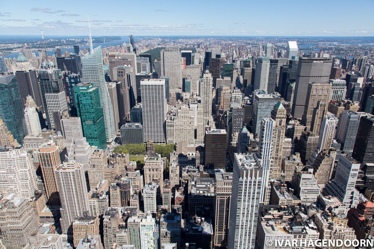 Manhattan seen from the Empire State Building