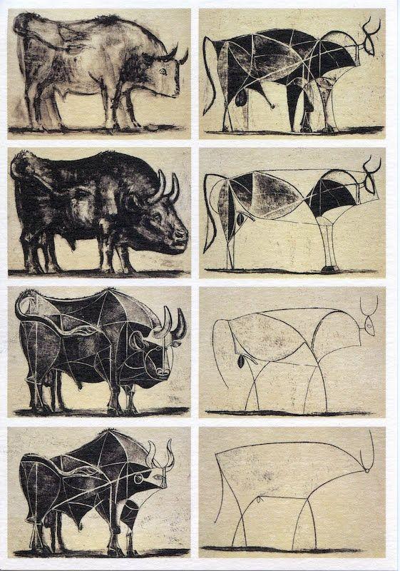 Picasso, Huit États du Toureau