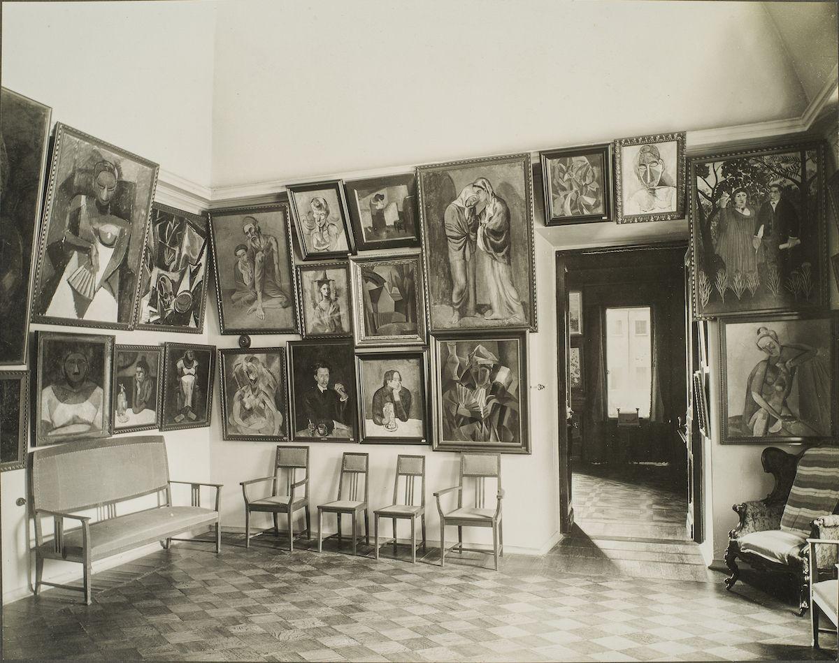 Picasso room Palais Troubetskoi 1914