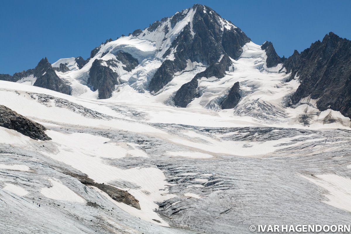 Glacier du Tour and Aiguille d'Argentière