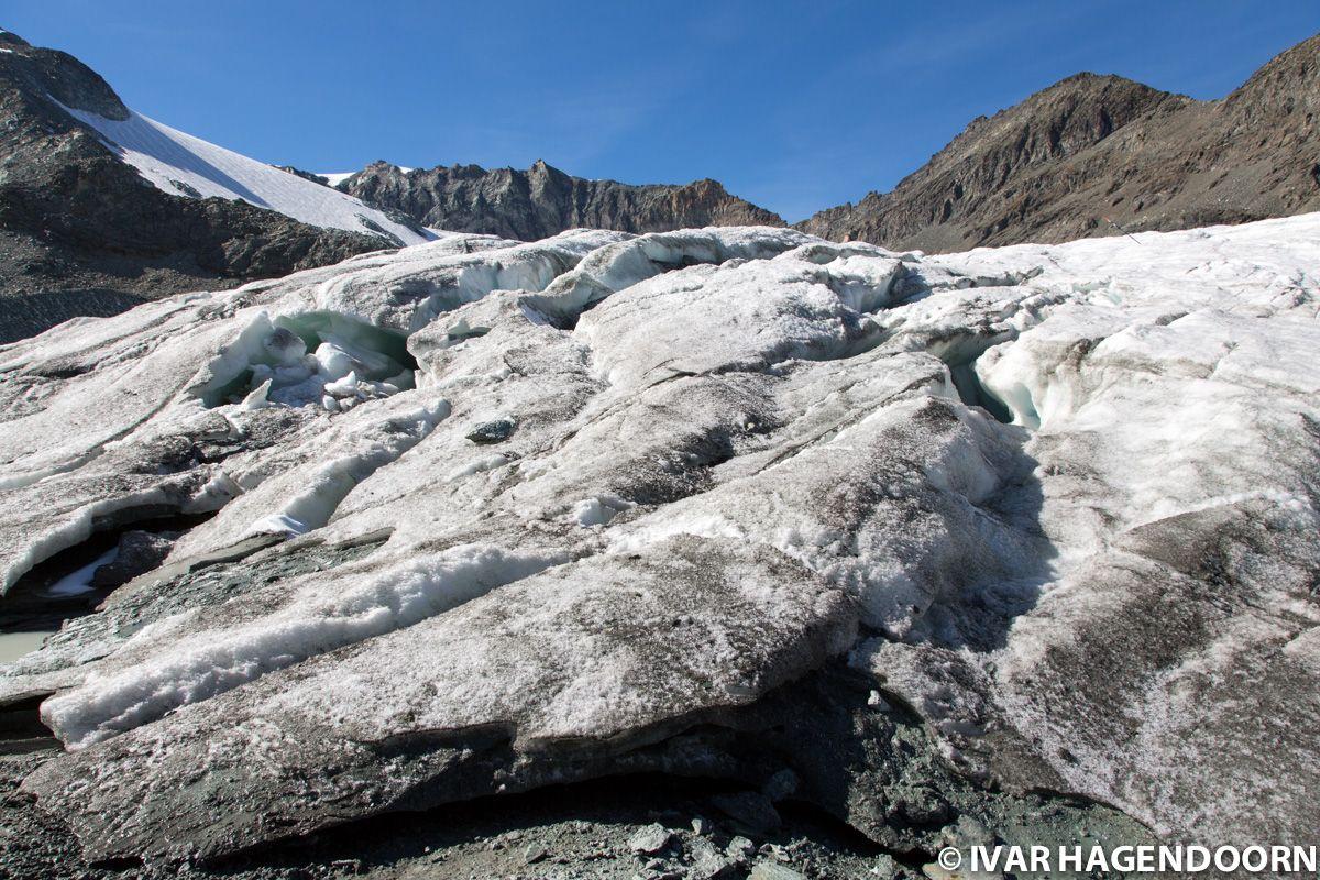 Hohlaubgletscher Glacier Trail Felskinn Mattmark