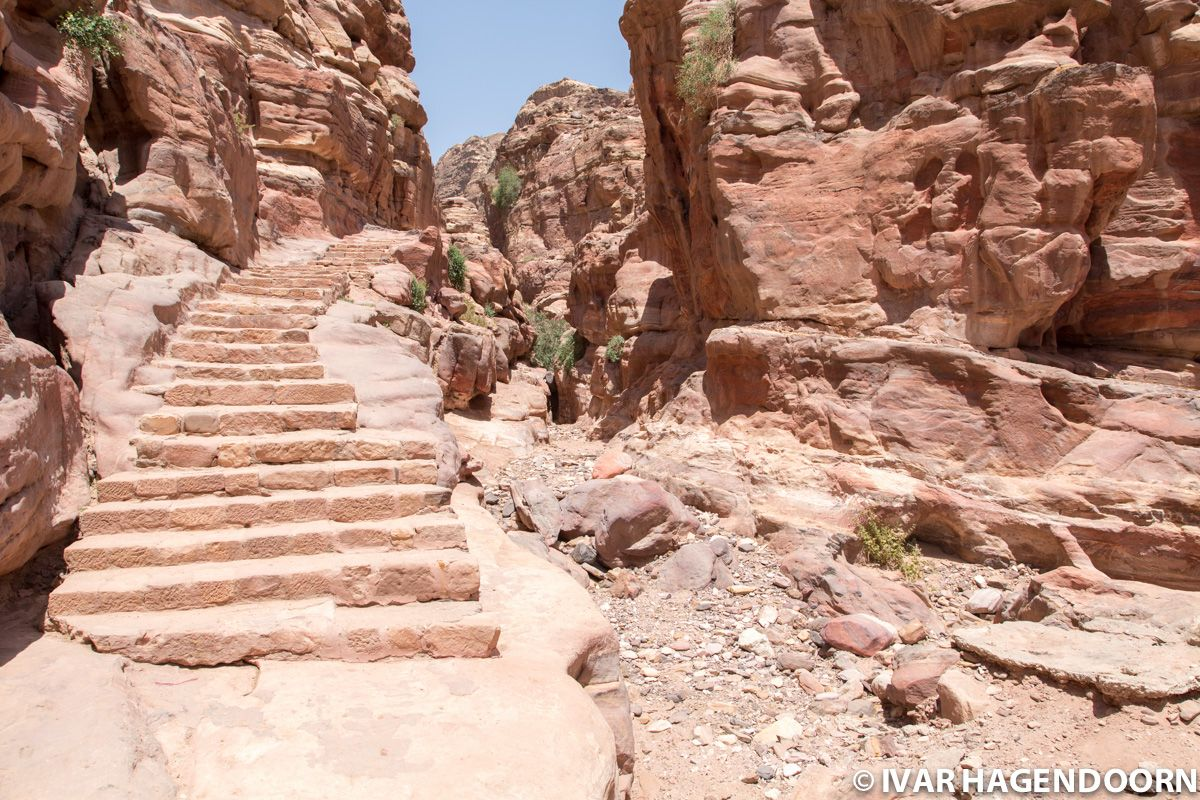 Petra, Trail to the Monastery