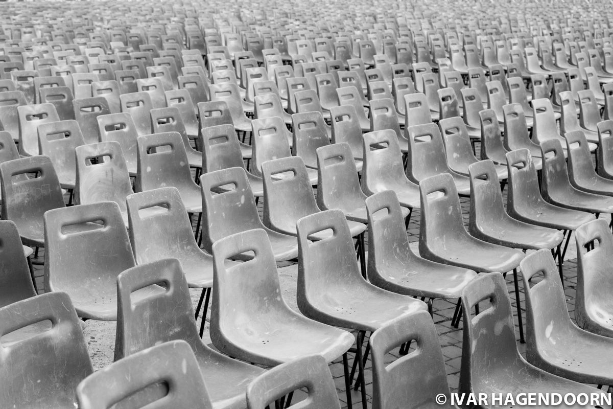 Chairs Saint Peter's Square, Rome