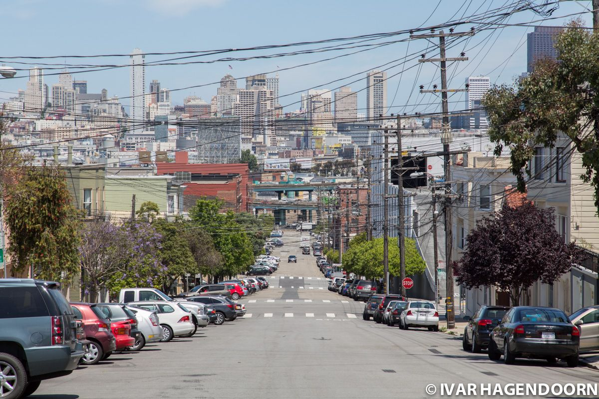 San Francisco view from Potrero Hill