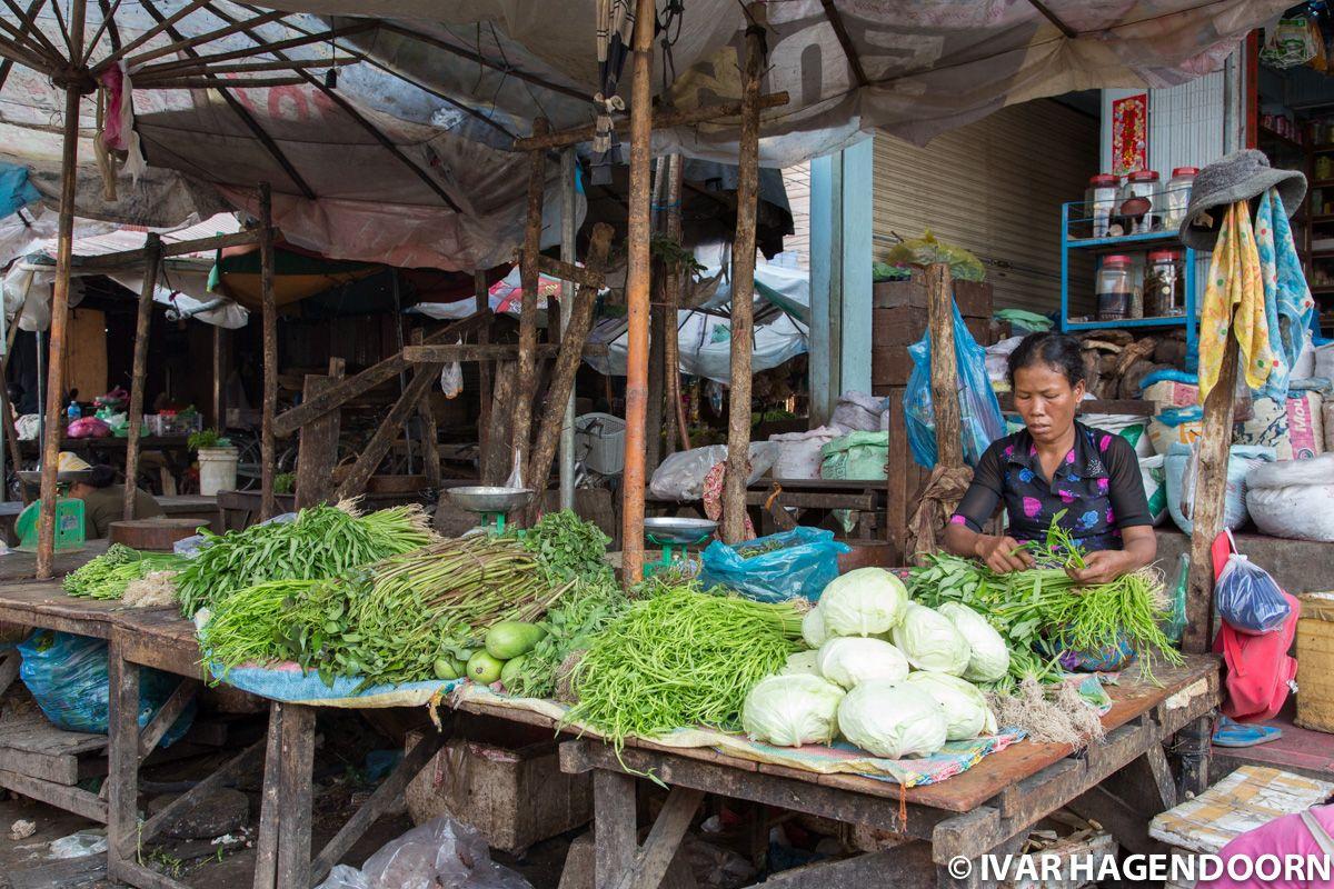 Psar Leu Market, Siem Reap