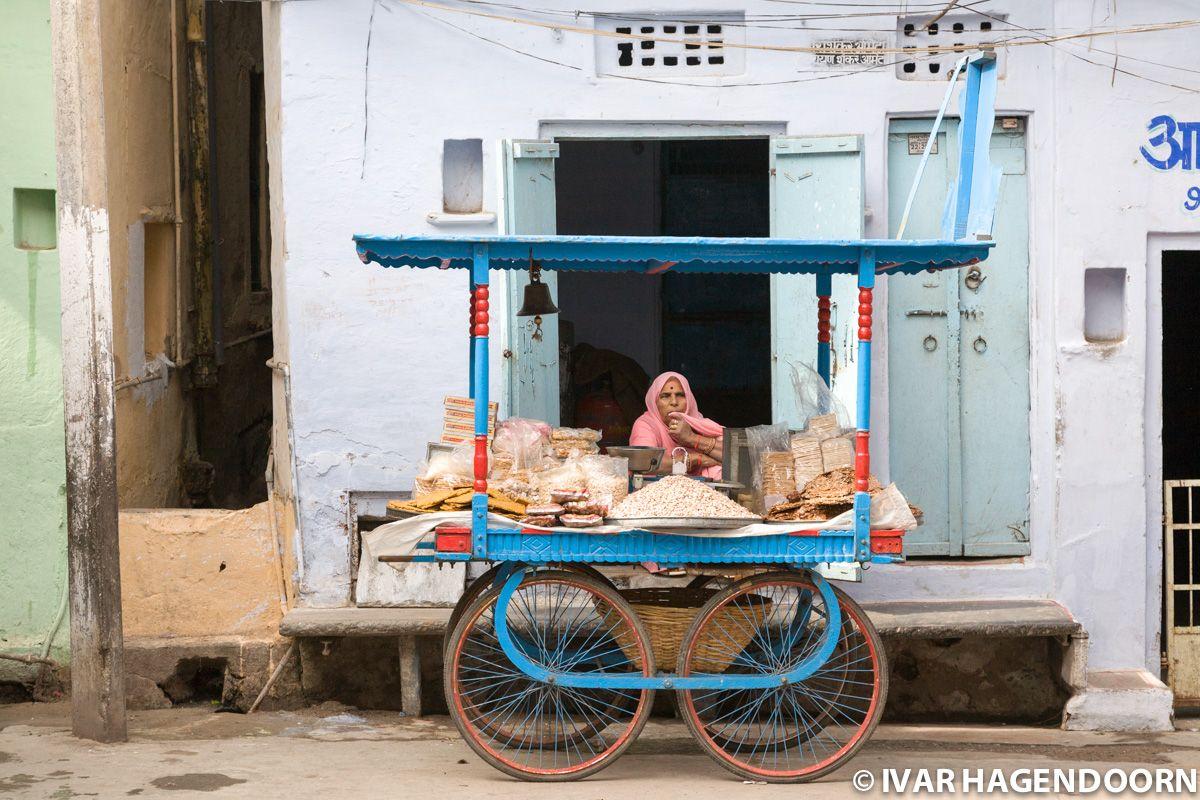 Street stall, Udaipur