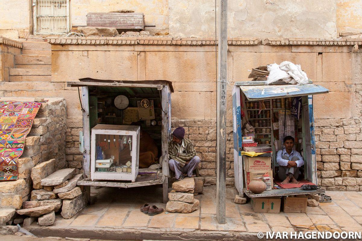 Street stalls in Jaisalmer